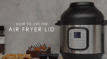 Instant Pot Duo Crisp - Air Fryer lid
