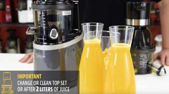 Sana HORECA premium juicer tips&tricks